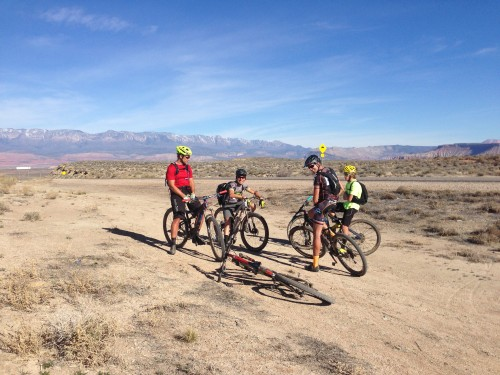 Even though my race didn't go well I enjoyed being in the desert of southern Utah and riding dirt with friends
