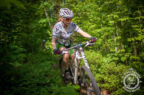 : Libby White (Colt Training Systems) cuts a line through the brush during stage 7 of the NoTubes Trans-Sylvania Epic. Photos by: Trans-Sylvania Epic Media Team