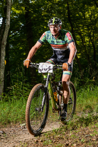 Keck Baker took the open men's race and the series title in Georgia. Photo by H&H Multimedia