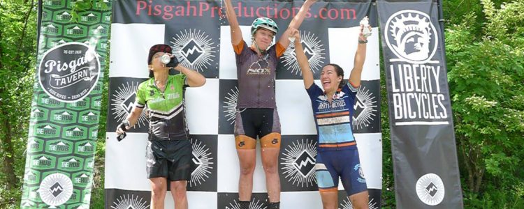 Women's podium at the 111k.