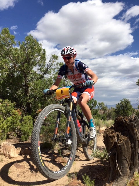 Rose Grant (Pivot/NoTubes) dominated from start to finish in Grand Junction. Photo by Shannon Boffeli