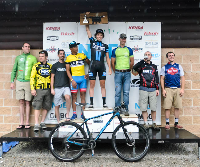 100-mile open men's podium. Photo by: Butch Phillips Photography