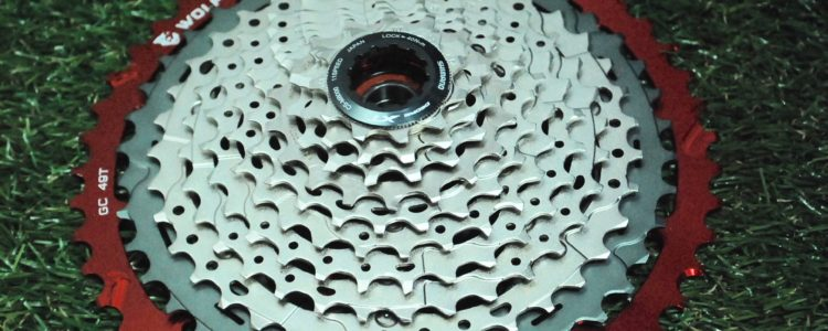 Wolf Tooth's Giant Cog converts a standard Shimano cassette to an 11-49.