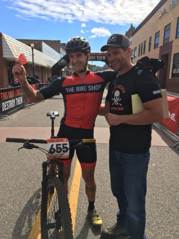 "614305404 Matt Myers takes second place finishing at 6 33 25. ""Still in disbelief  that I actually stood on the podium at Marji. Hands down toughest 50 miles  I ve ever ..."